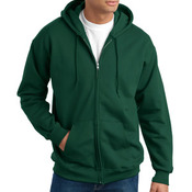 Hanes F283 Ultimate Cotton Full Zip Hooded Sweatshirt