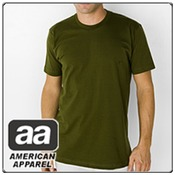 American Apparel 2001- Fine Jersey Short Sleeve T